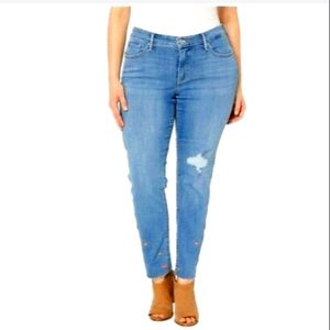 Levi's 311 Shaping Skinny Mid Rise Jeans WP2